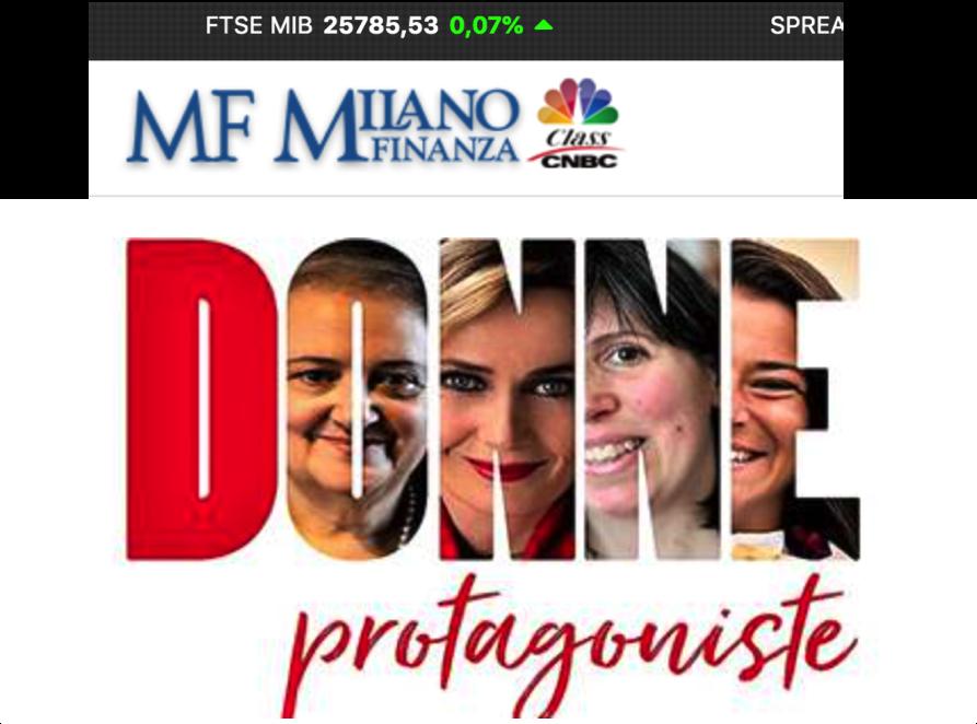Donne Protagoniste & MF - Milano Finanza
